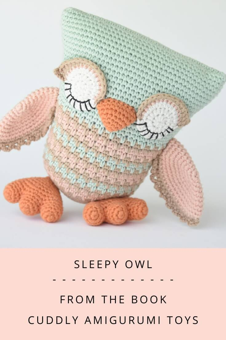 Koko the owl amigurumi pattern | hookabee | 1102x735