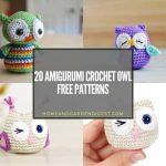 20 Amigurumi Crochet Owl Free Patterns