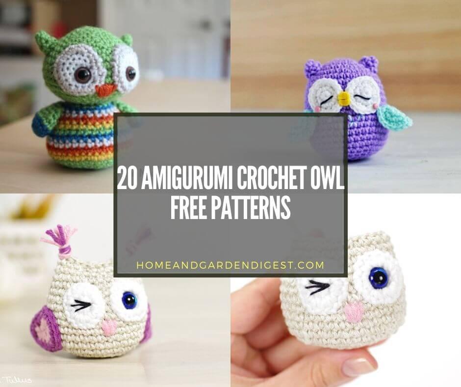 50 Crochet Inspirations for Freshers | Owl crochet patterns, Harry ... | 788x940