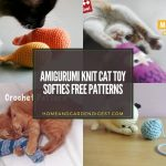 Amigurumi Knit Cat Toy Softies Free Patterns