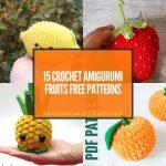 15 Crochet Amigurumi Fruits Free Patterns