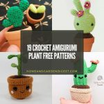 19 Crochet Amigurumi Plant Free Patterns