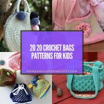 20 Crochet Bags Patterns For Kids
