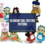 20 Crochet Doll Toys Free Patterns