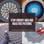 17 DIY Crochet Area Rug Ideas Free Patterns