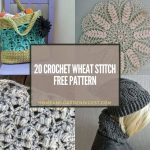 15 Crochet Wheat Stitch Free Pattern