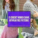 15 Crochet Women Shawl Outwear Free Patterns