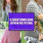 15 Crochet Women Shawl Outwear Free Patterns