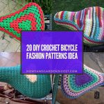 20 DIY Crochet Bicycle Fashion Patterns