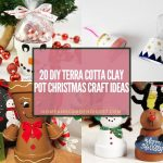 20 DIY Terra Cotta Clay Pot Christmas Craft Ideas