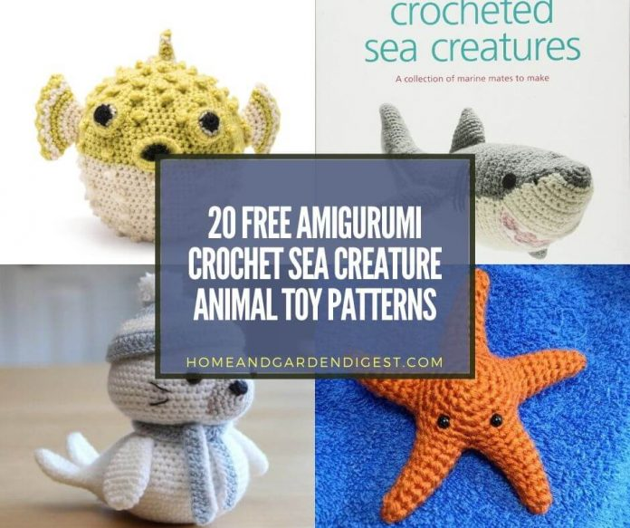 Ravelry: Little Sea Creatures pattern by Lorraine Pistorio | 583x696