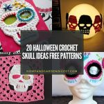20 Halloween Crochet Skull Ideas Free Patterns