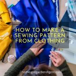 How to Make a Sewing Pattern from Clothing
