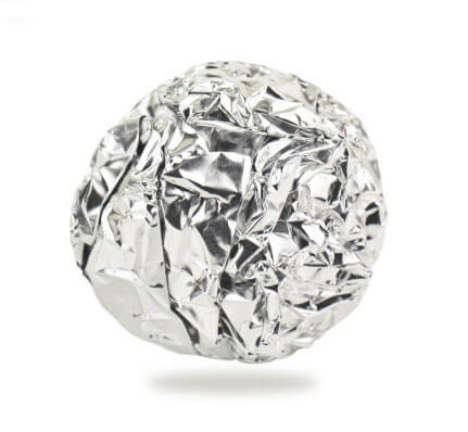 You can also make your own ball using aluminum foil