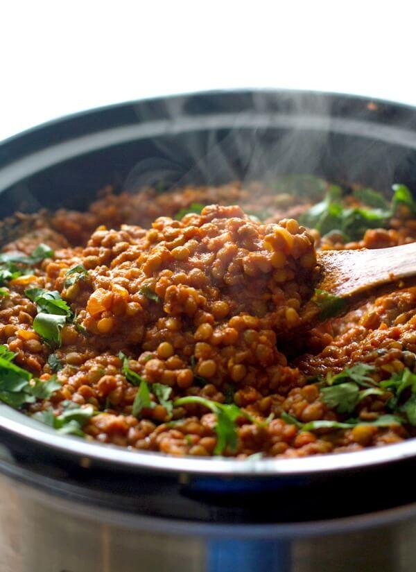 Vegetarian Red Lentil Curry