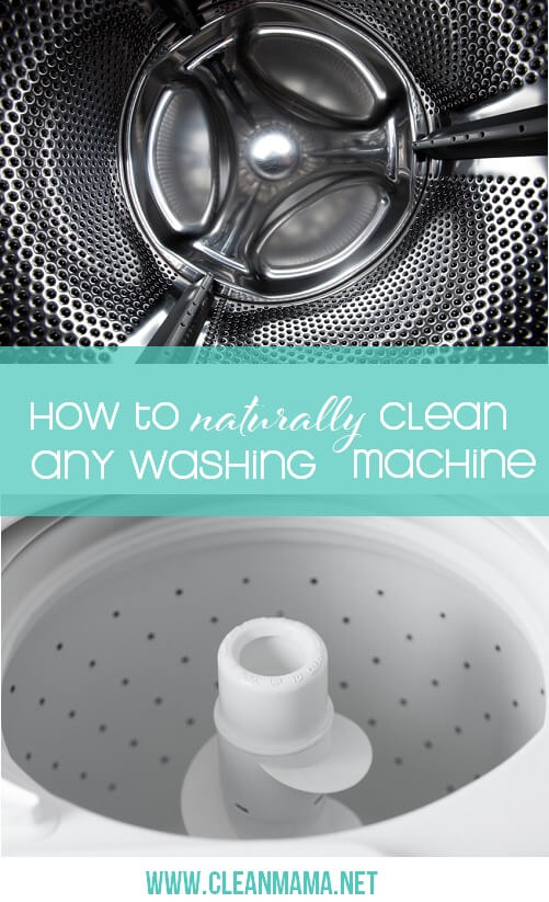 Clean your washing machine too