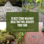 20 Best Stone Walkway Ideas That Will Beautify Your Yard