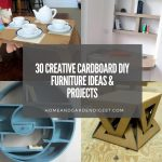 30 Creative DIY Cardboard Furniture Ideas & Projects