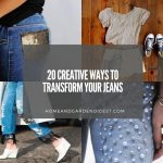 20 DIY Jeans Makeover - Creative Ways To Transform Your Jeans