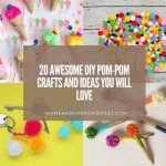 20 Awesome DIY Pom-Pom Crafts and Ideas You Will Love