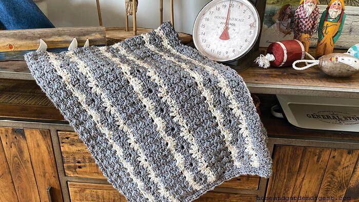 Cluster daisy blanket