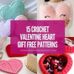 15 Crochet Valentine Heart Gift Free Patterns