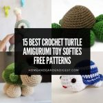 15 Crochet Turtle Amigurumi Toy Softies Free Patterns