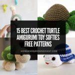 15 Crochet Turtle Amigurumi Toy Softies Free Patterns
