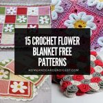 15 Crochet Flower Blanket Free Patterns
