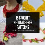 15 Crochet Necklace Free Patterns
