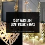 15 DIY Fairy Light Craft Projects Ideas