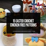 15 Easter Crochet Chicken Free Patterns