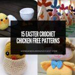 15 Easter Crochet Chicken Free Patterns