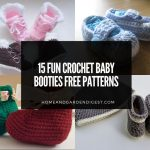 15 Fun Crochet Baby Booties Free Patterns