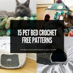 15 Pet Bed Crochet Free Patterns