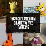15 Crochet Amigurumi Giraffe Toy Free Patterns