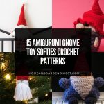 15 Amigurumi Gnome Toy Softies Crochet Patterns