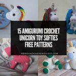 15 Amigurumi Crochet Unicorn Toy Softies Free Patterns