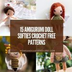 15 Amigurumi Doll Softies Crochet Free Patterns
