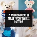 15 Amigurumi Crochet Mouse Toy Softies Free Patterns