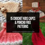 15 Crochet Kids Capes & Poncho Free Patterns