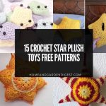 15 Crochet Star Plush Toys Free Patterns