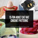 15 Fun Free Adult Cat Hat Crochet Patterns
