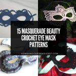 15 Masquerade Beauty Crochet Eye Mask Patterns