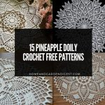 15 Best Pineapple Doily Crochet Free Patterns