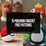 15 Pokemon Crochet Free Patterns