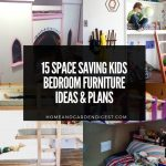 15 Space Saving Kids Bedroom Furniture Ideas & Plans