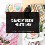 15 Tapestry Crochet Free Patterns
