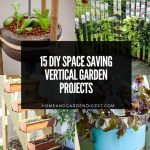 15 DIY Space Saving Vertical Garden Projects